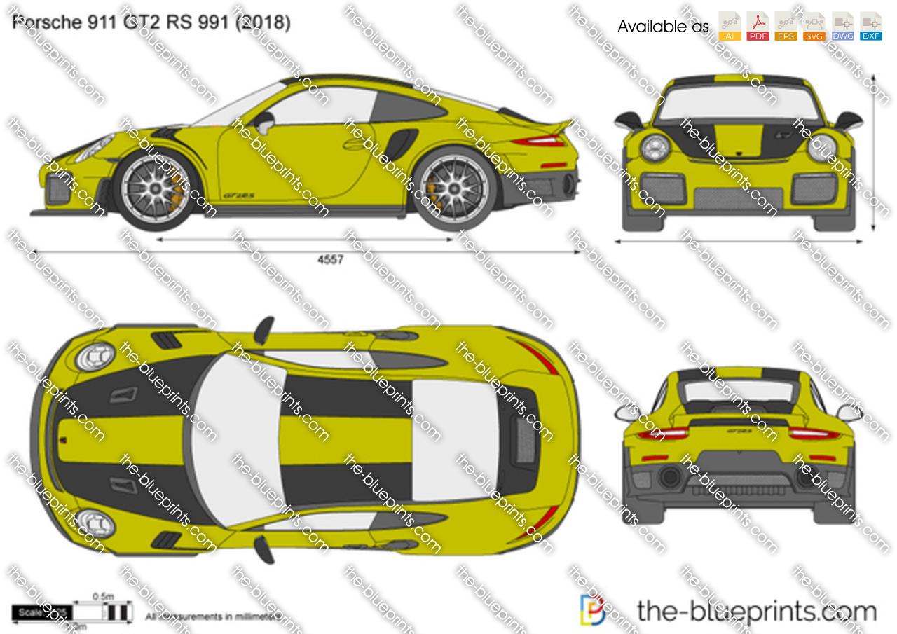 Porsche 911 GT2 RS 991 2018