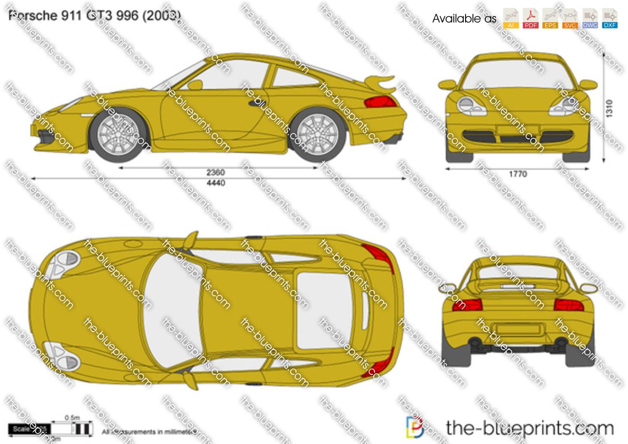 Porsche 911 GT3 996 2000