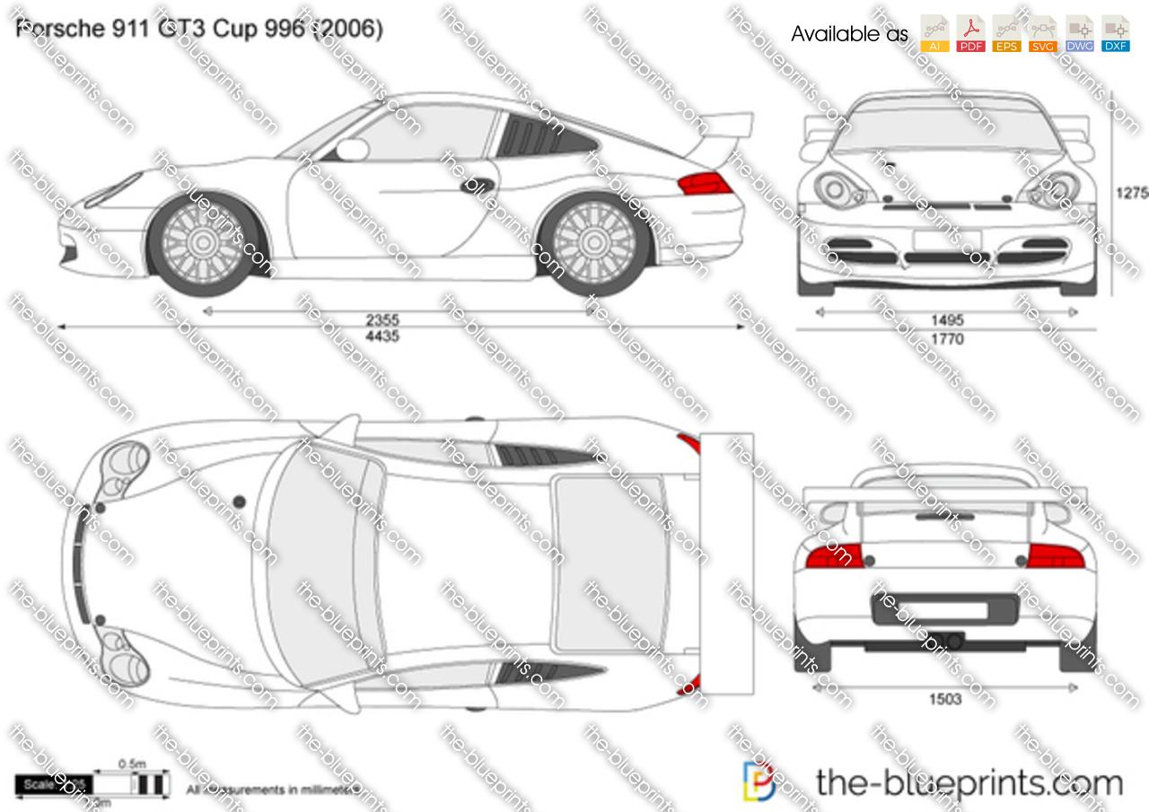 Porsche 911 GT3 Cup 996