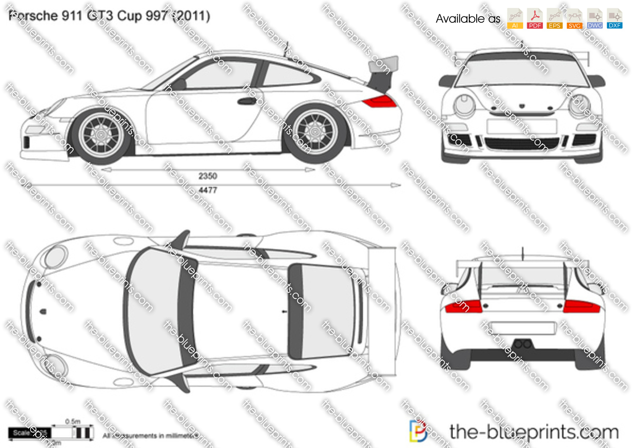 how to draw   porshe 911 gt3