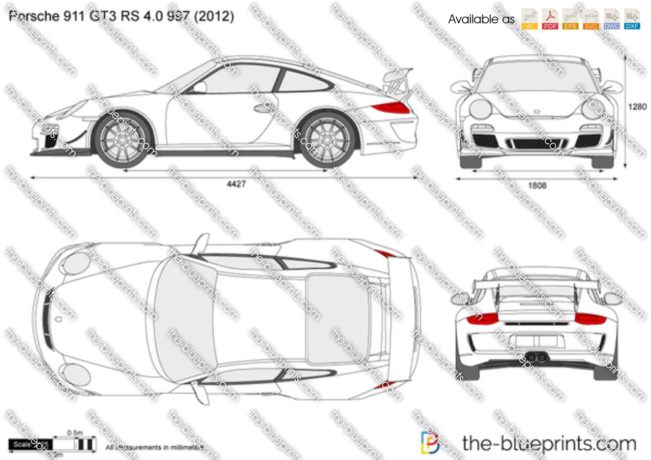 Porsche 911 GT3 RS 4.0 997 2013