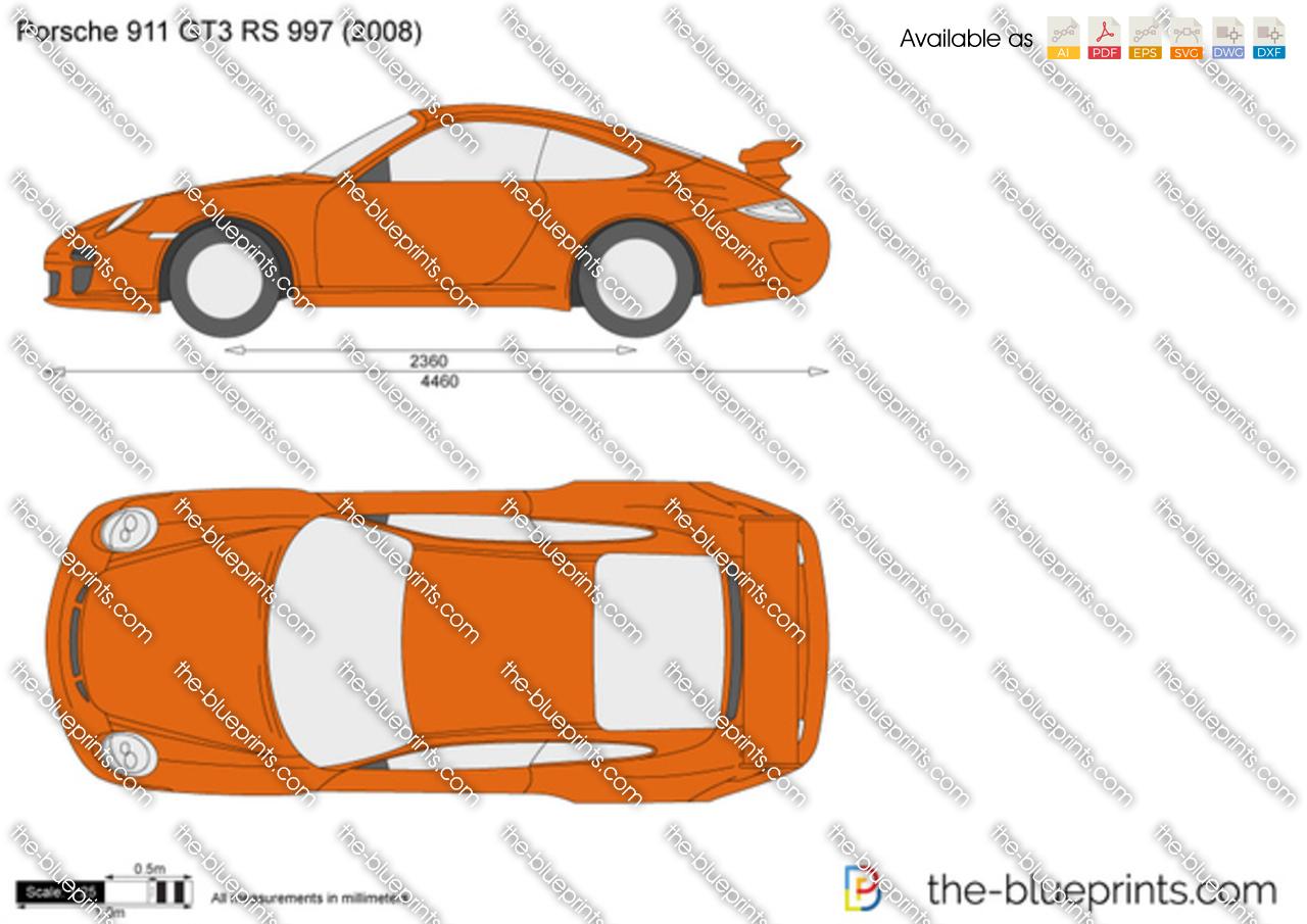 Porsche 911 GT3 RS 997 2009