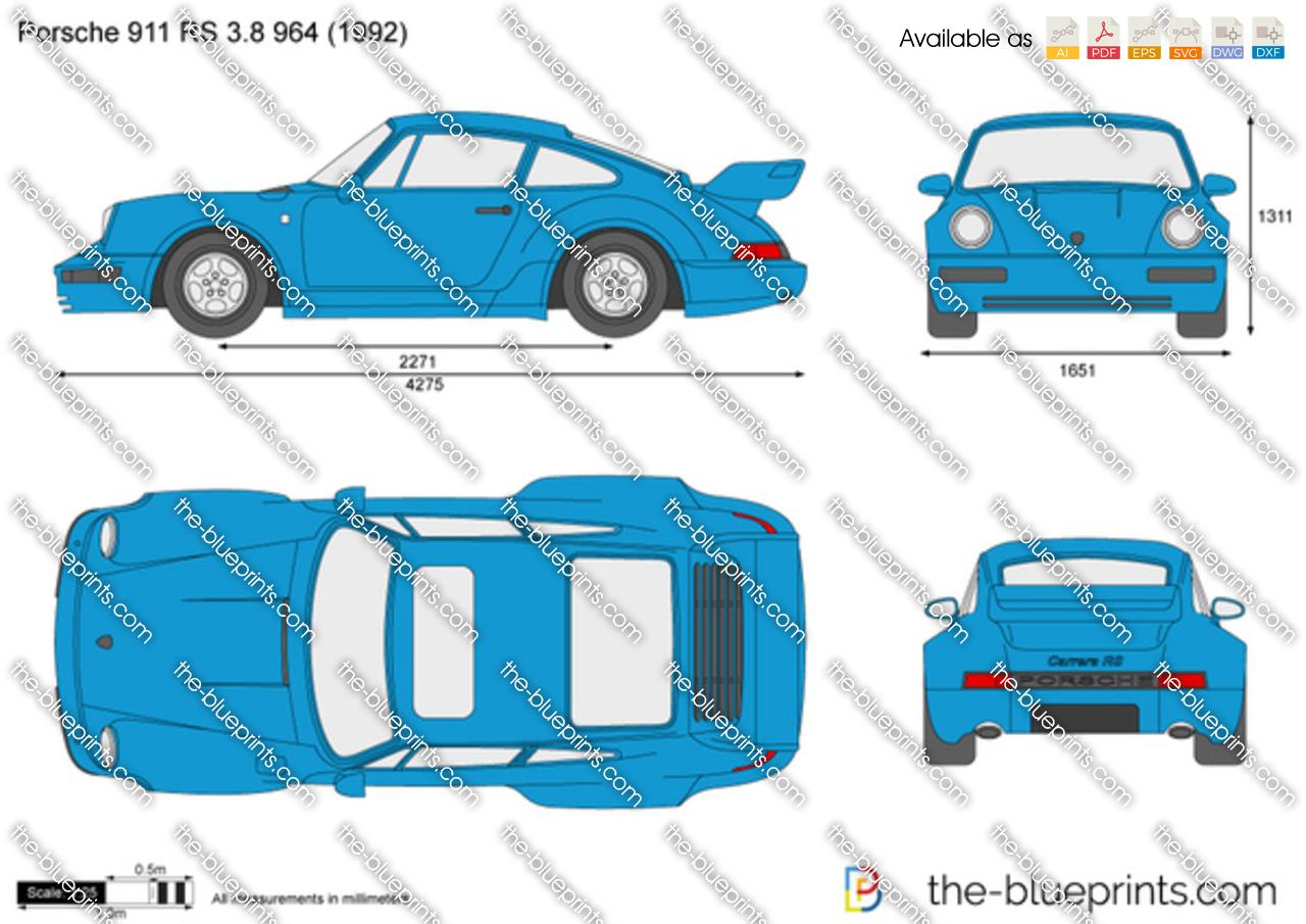 Porsche 911 RS 3.8 964 1993