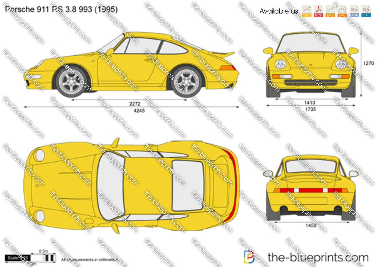 Porsche 911 RS 3.8 993 1997