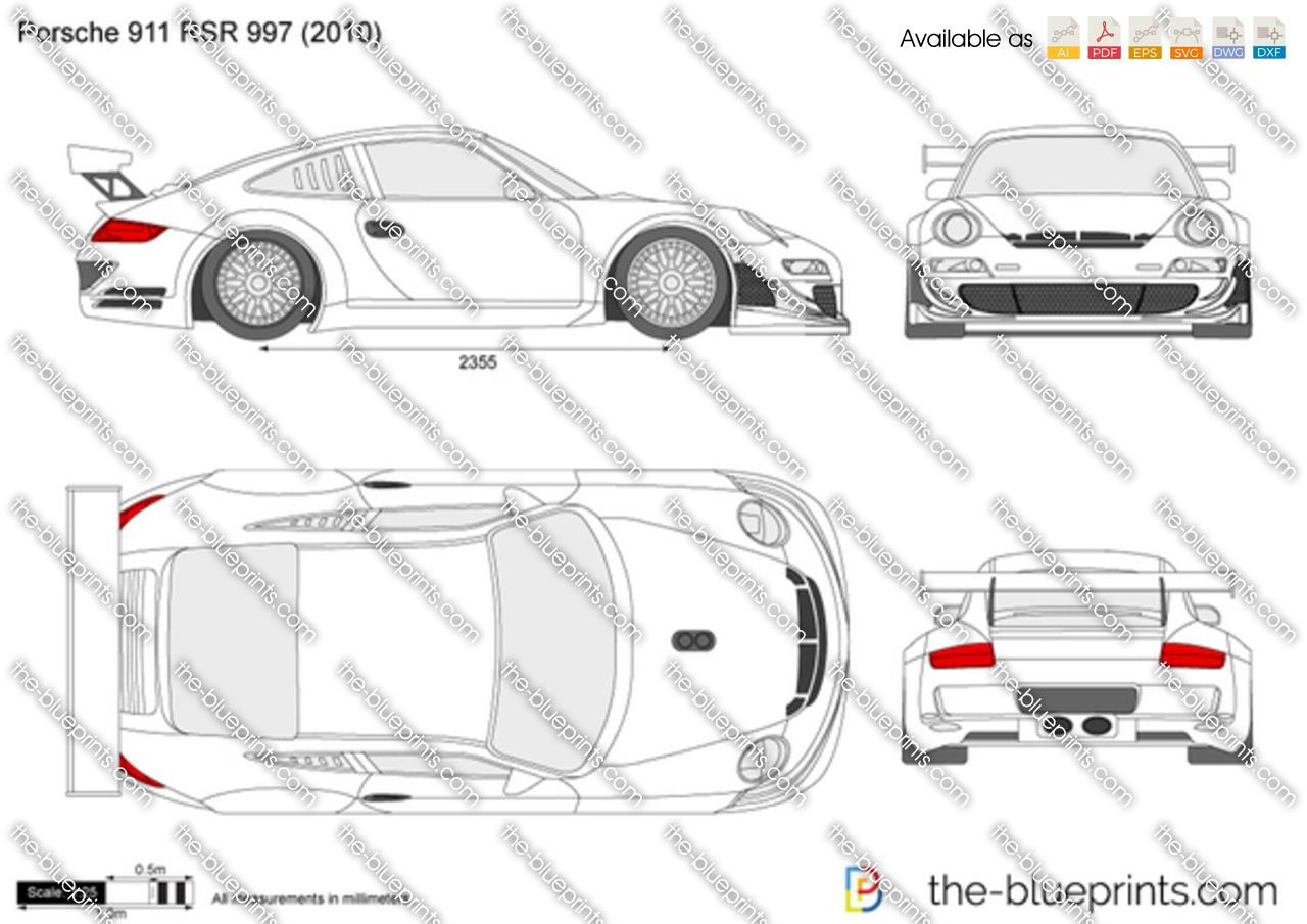 Porsche 911 RSR 997