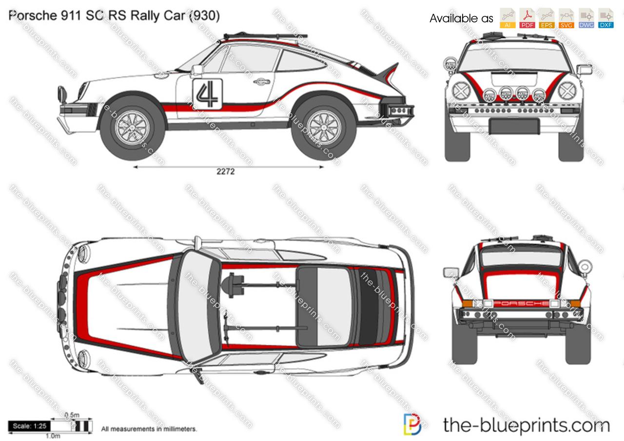 Porsche 911 SC RS Rally Car (930)
