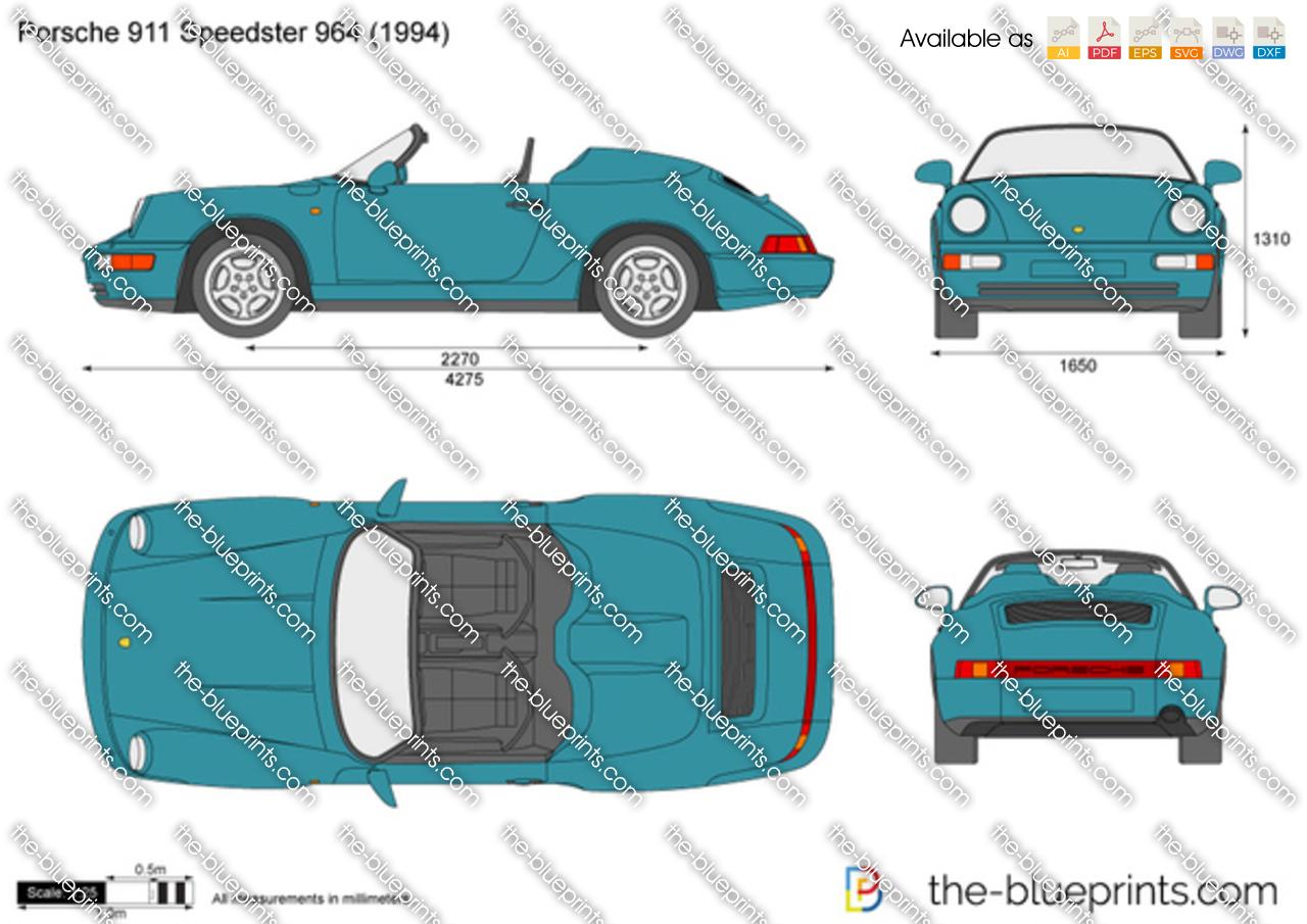 Porsche 911 Speedster 964