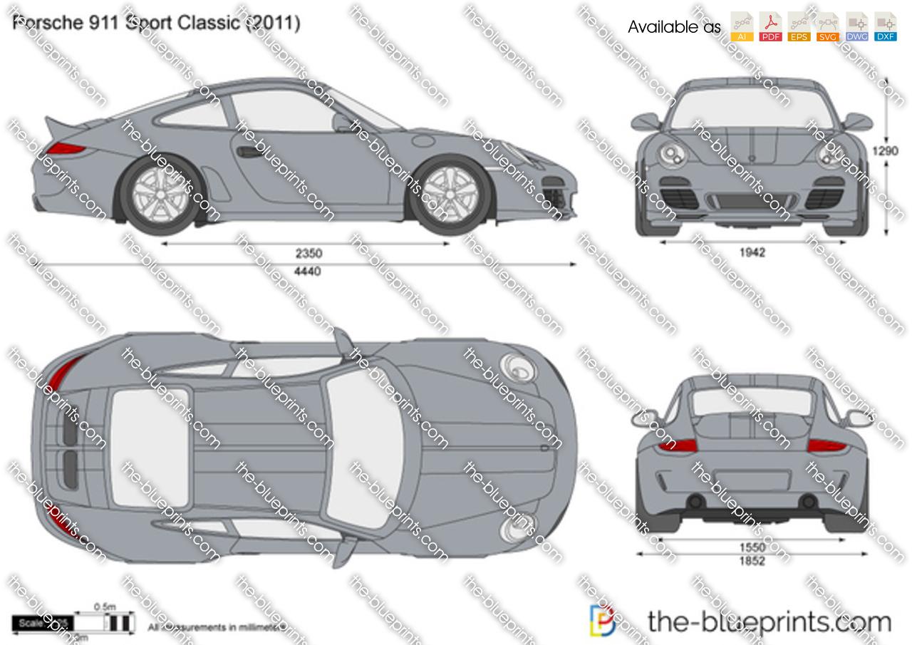 Porsche 911 Sport Classic 997 2010