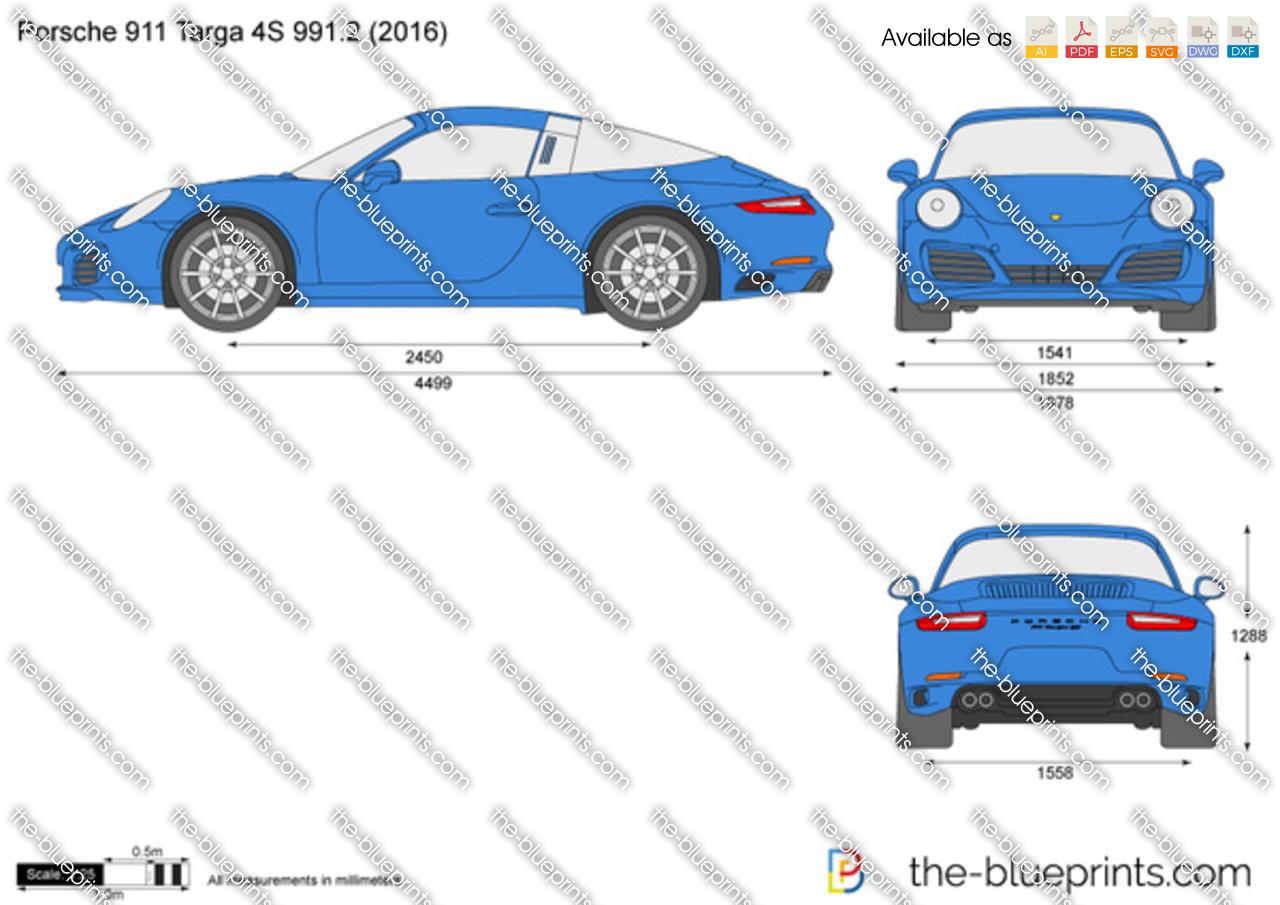 Porsche 911 Targa 4S 991.2