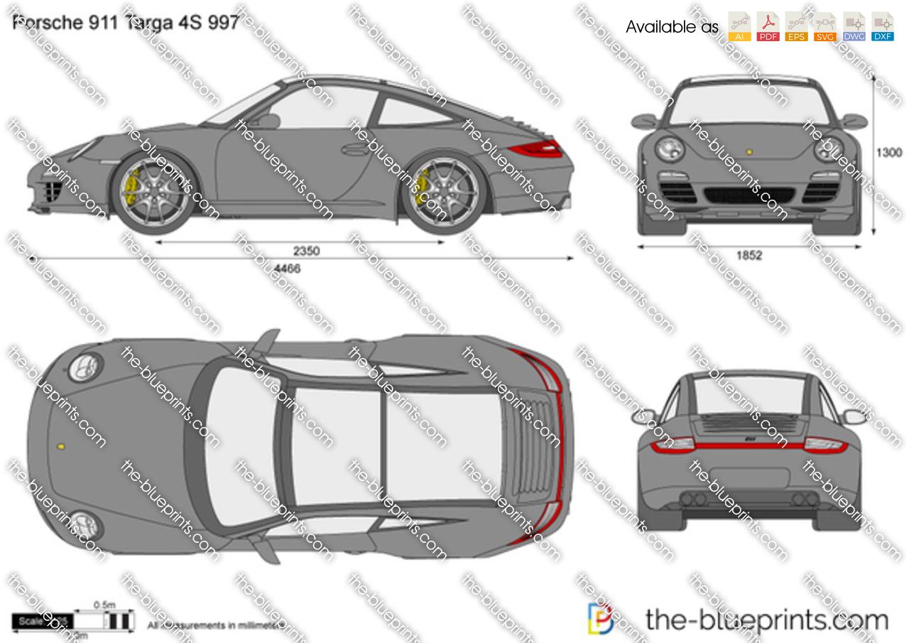Porsche 911 Targa 4S 997