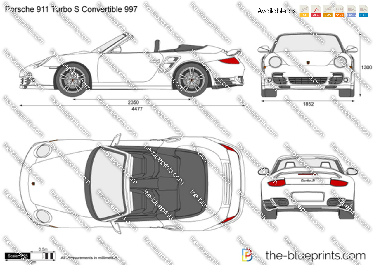 Porsche 911 Turbo Cabrio 997 2013