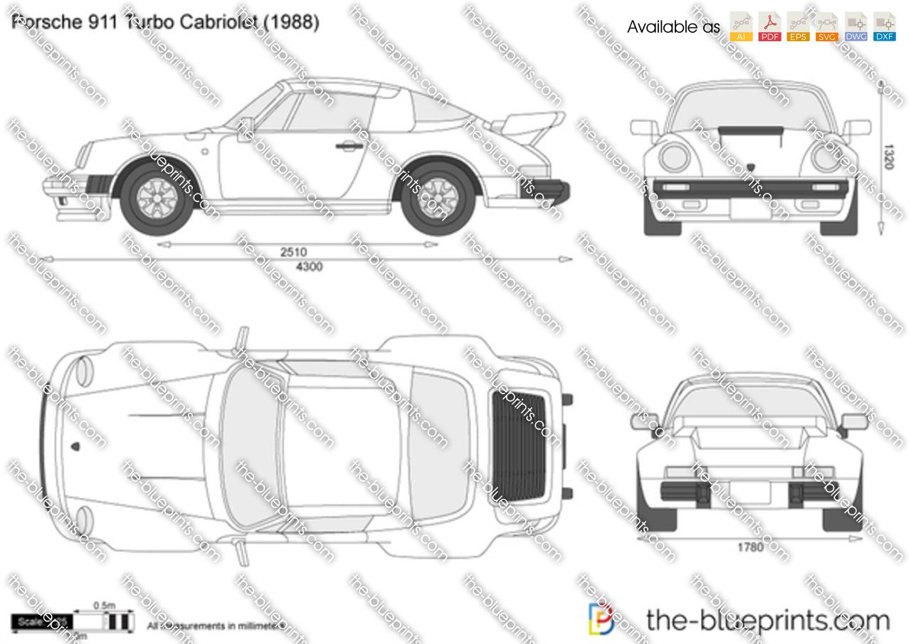 Porsche 911 Turbo Cabriolet 1986