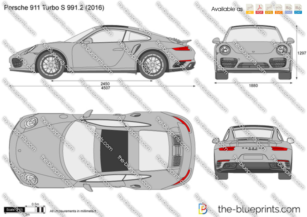 Porsche 911 Turbo S 991.2 2017