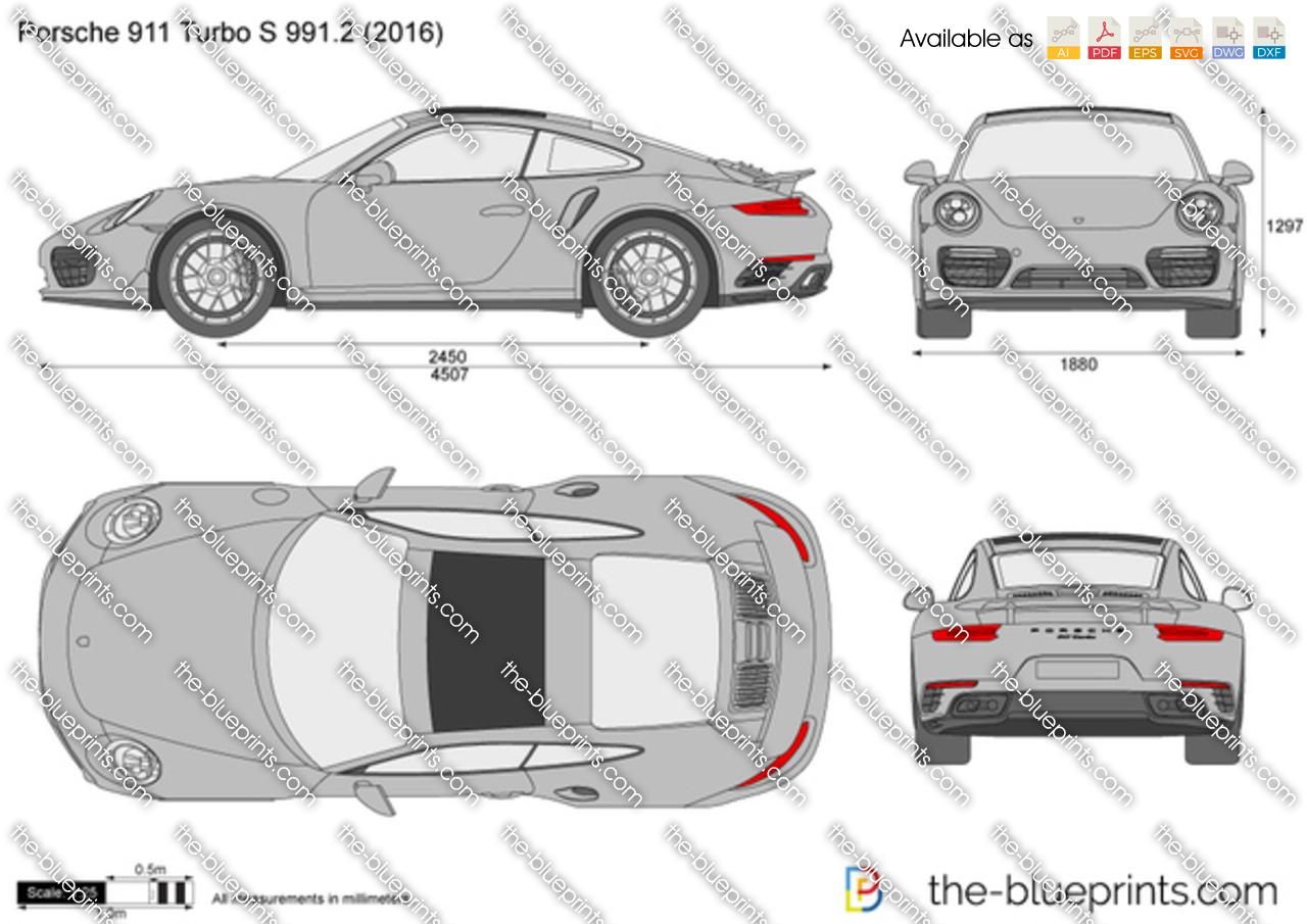 Porsche 911 Turbo S 991.2 2018