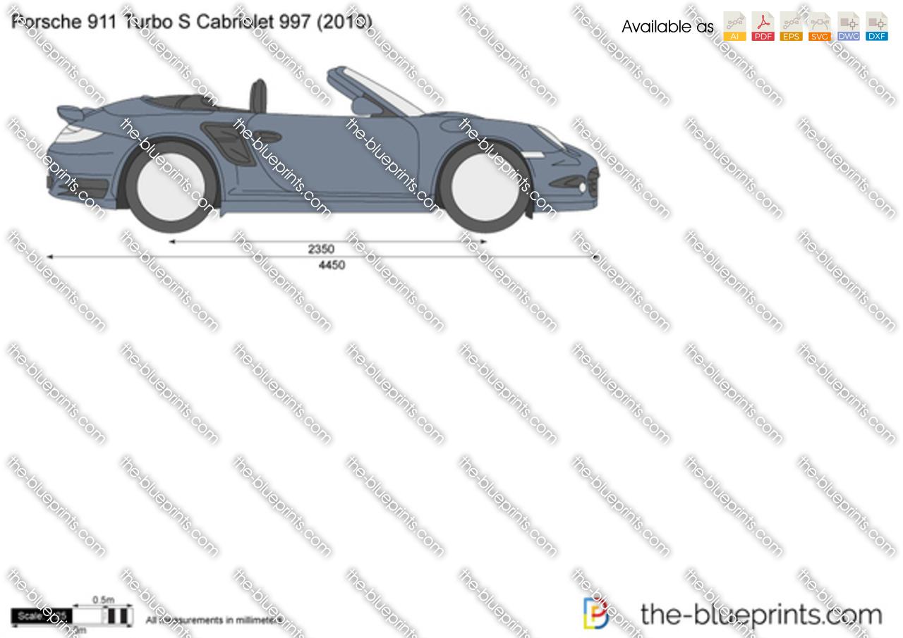 Porsche 911 Turbo S Cabriolet 997 2012