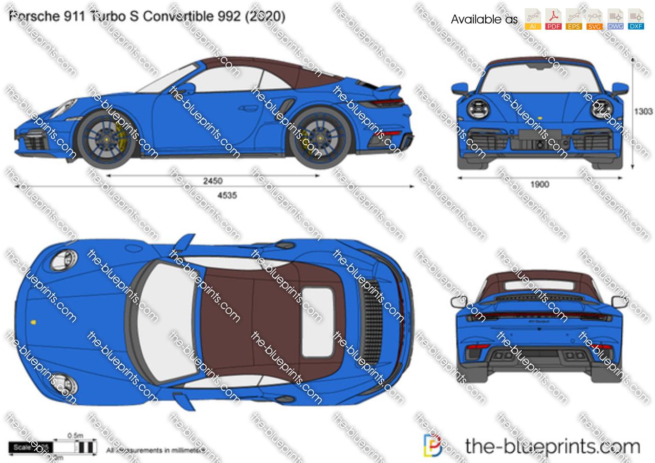 Porsche 911 Turbo S Convertible 992