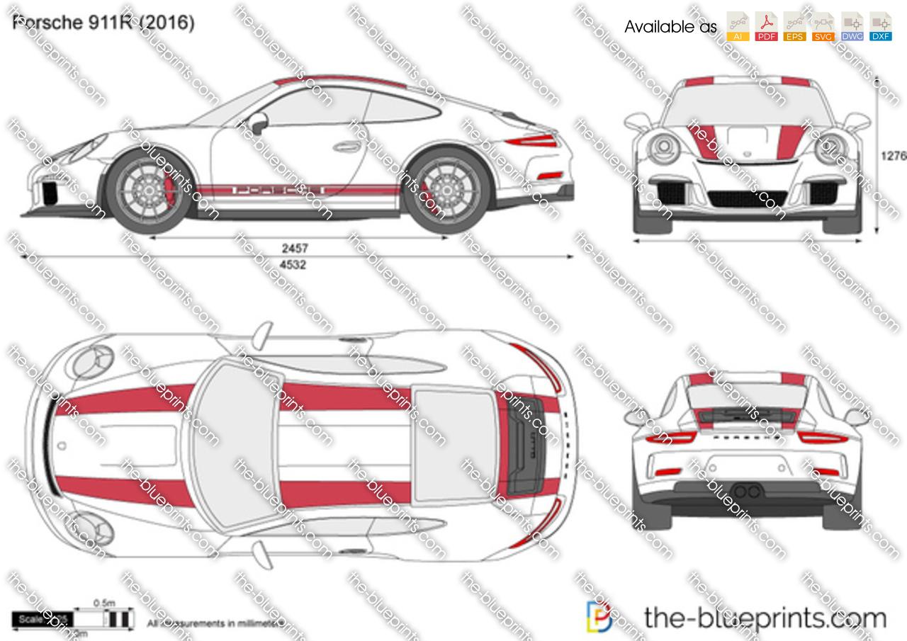 Porsche 911R 2017