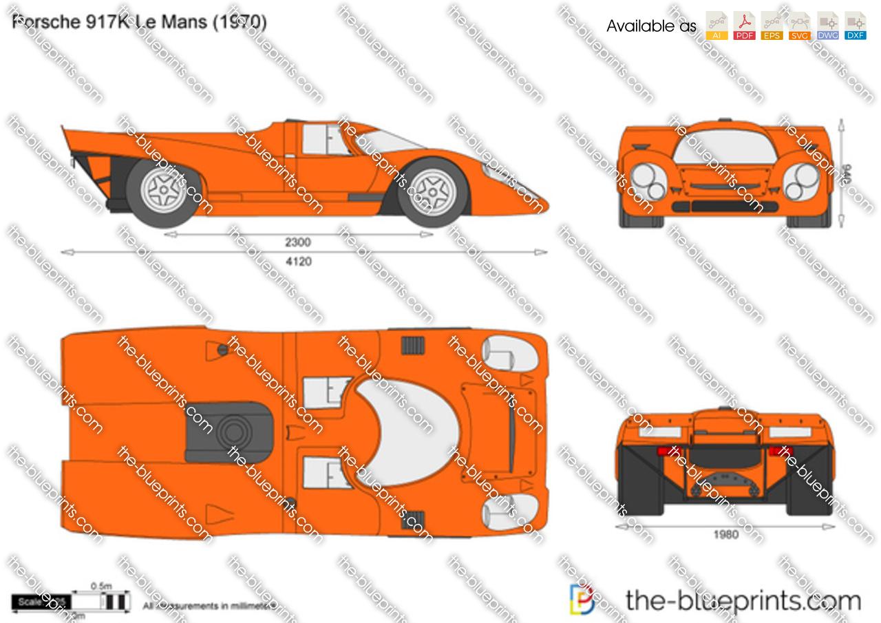 Porsche 917K Le Mans