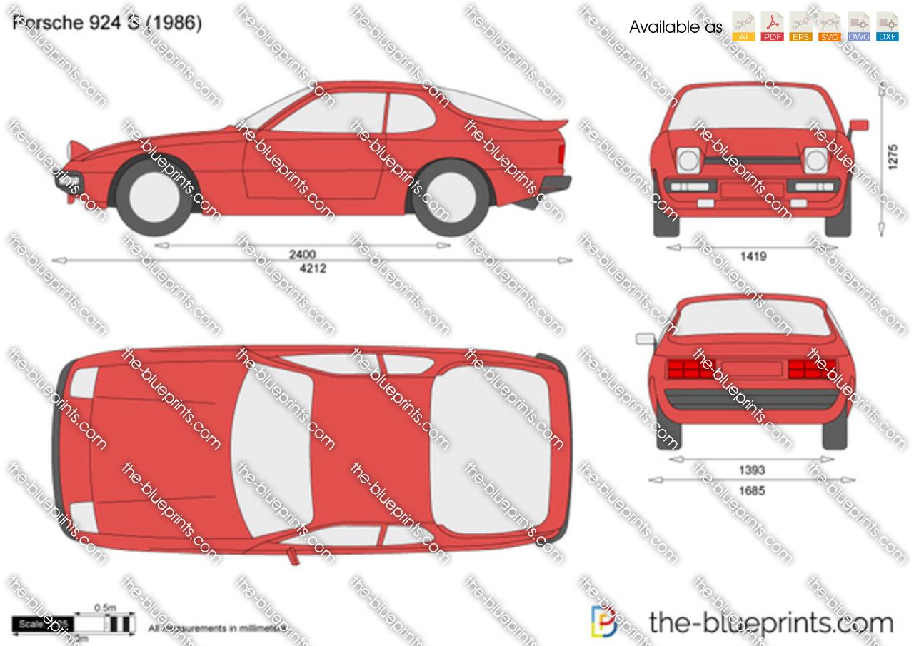 Porsche 924 S 1988