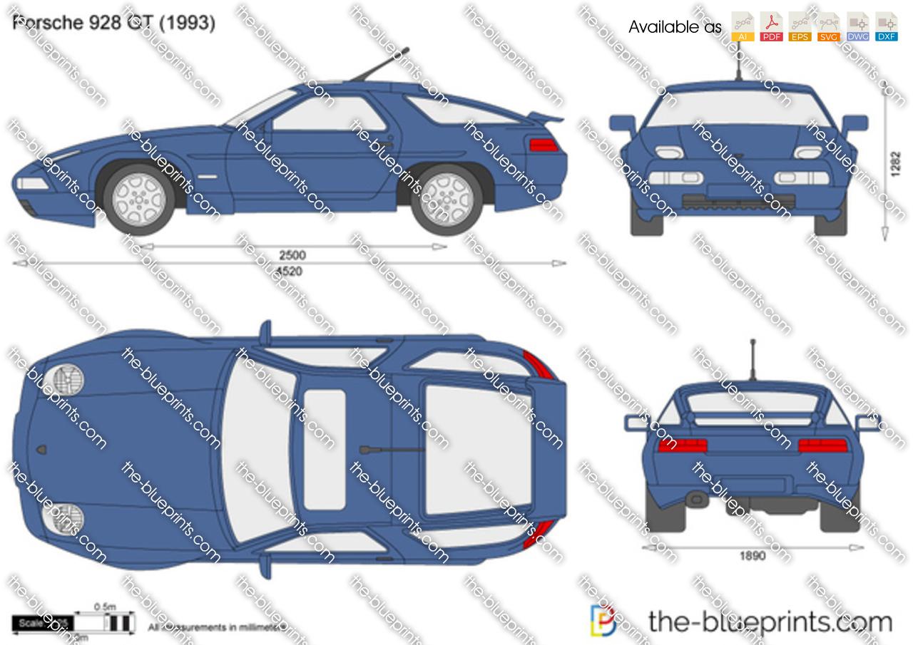 Porsche 928 GT 1989