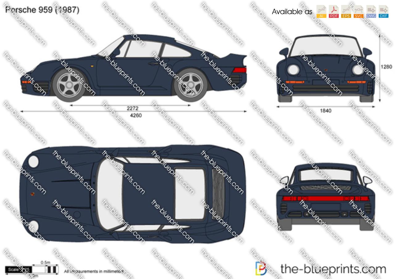 Porsche 959 1989
