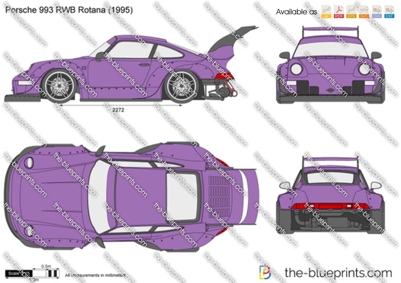 Porsche 993 RWB Rotana