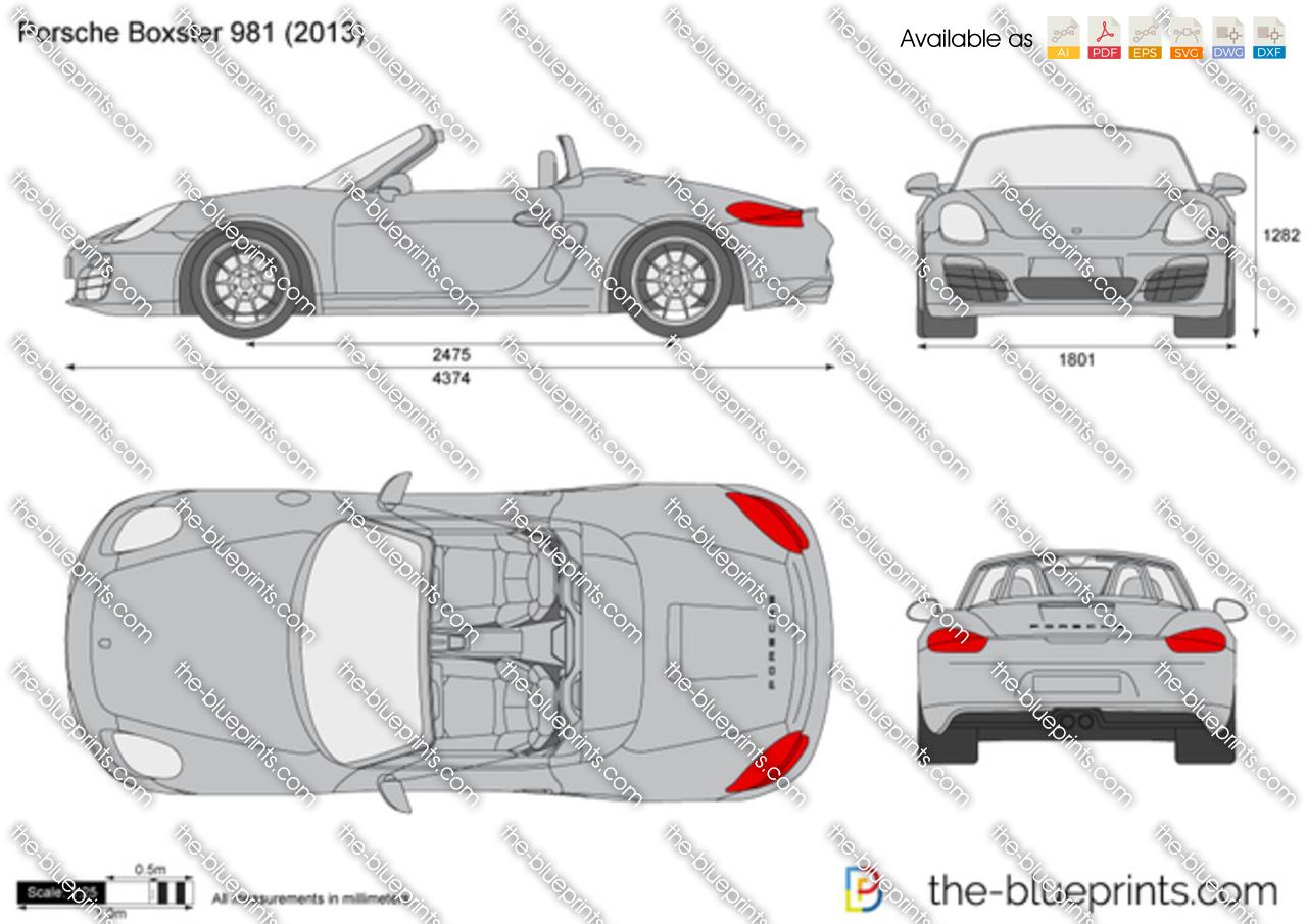 Porsche Boxster 981 2012