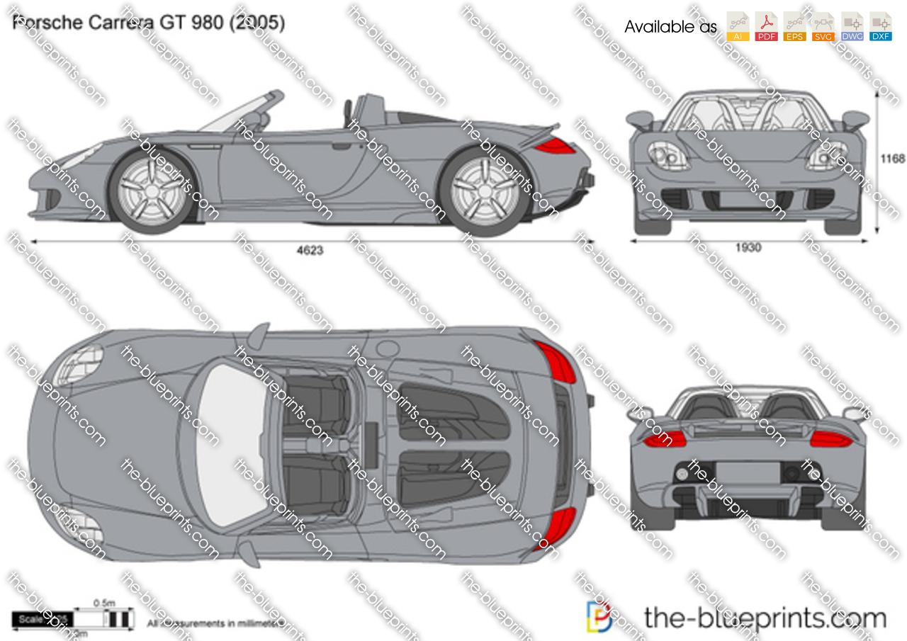 Porsche Carrera GT 980 2004