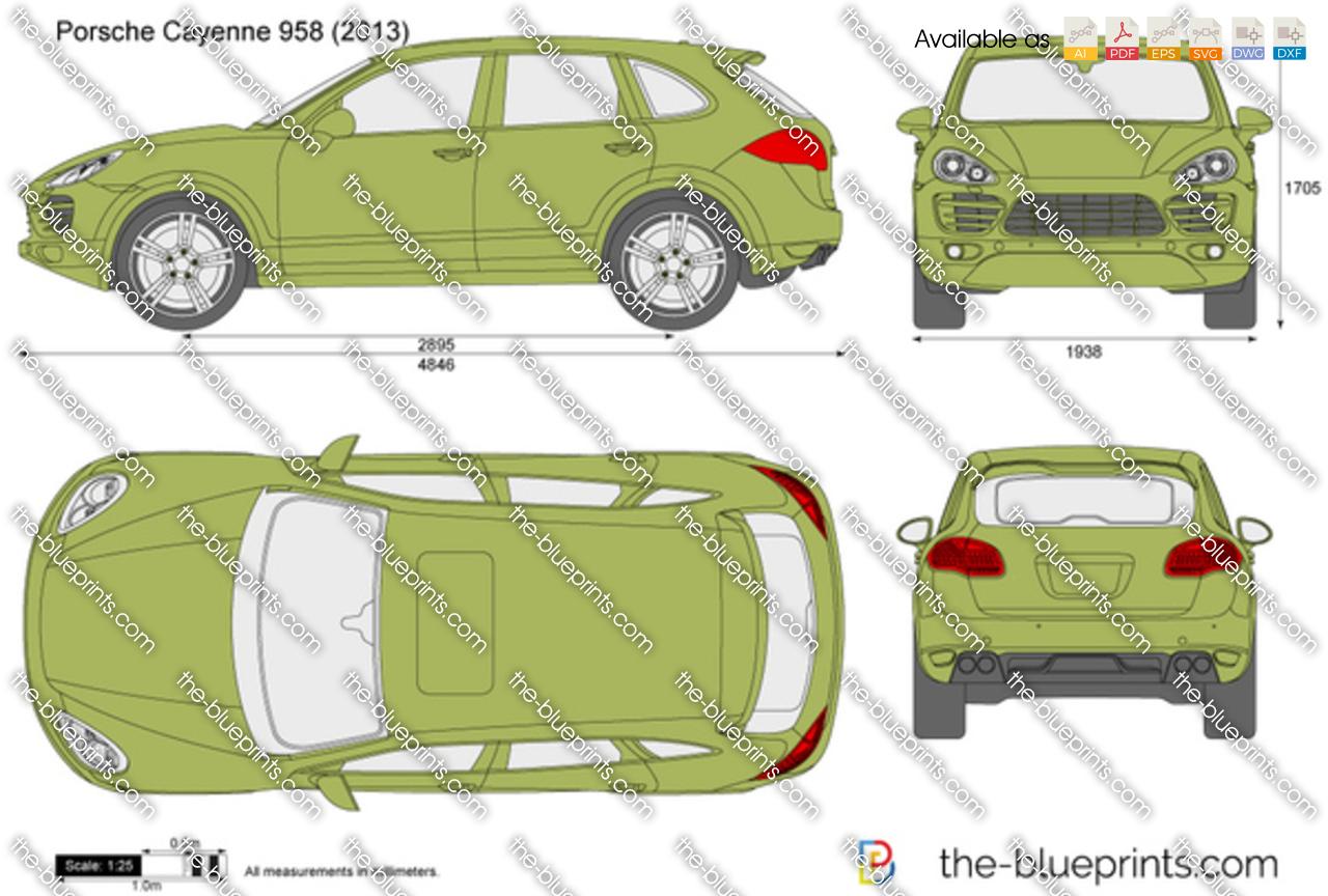Porsche Cayenne 958 2012