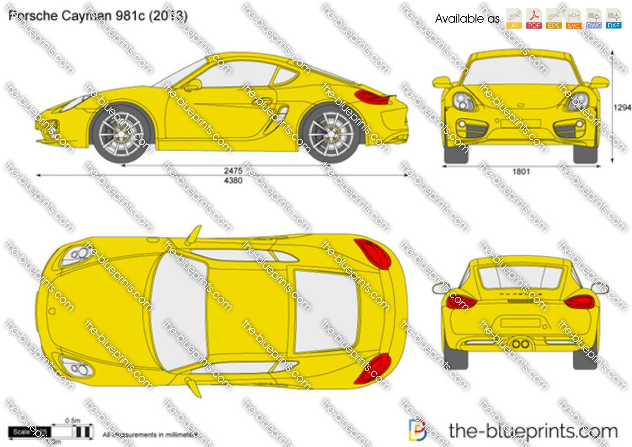 Porsche Cayman 981c 2014
