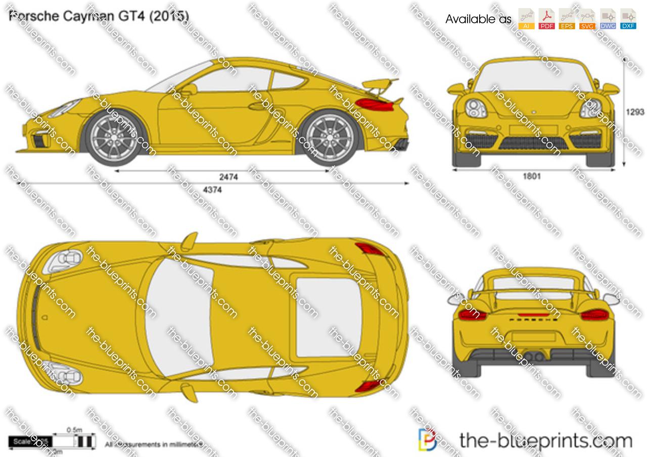 Porsche Cayman GT4 2017