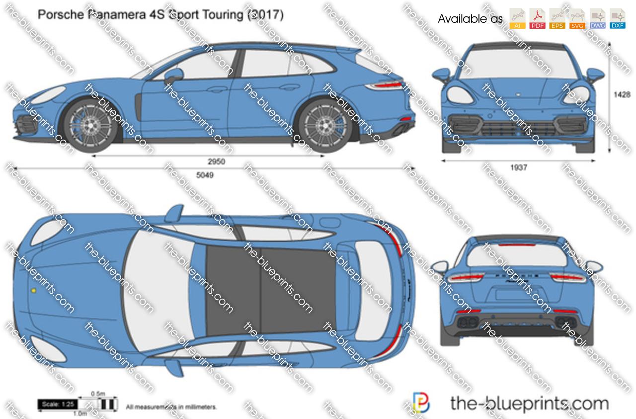 Porsche Panamera 4S Sport Tourismo