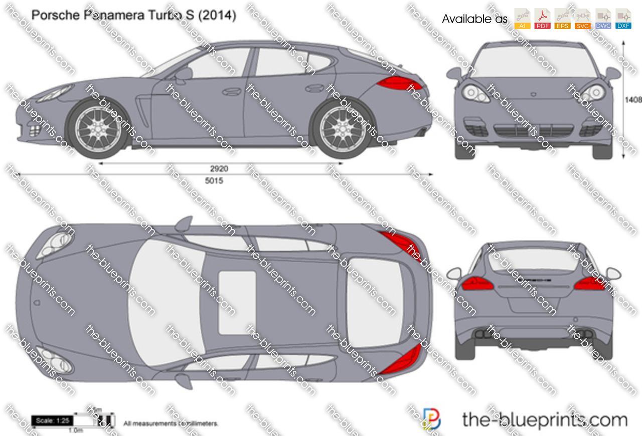 Porsche Panamera Turbo S 2015