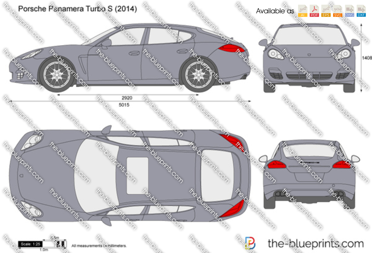 Porsche Panamera Turbo S 2016