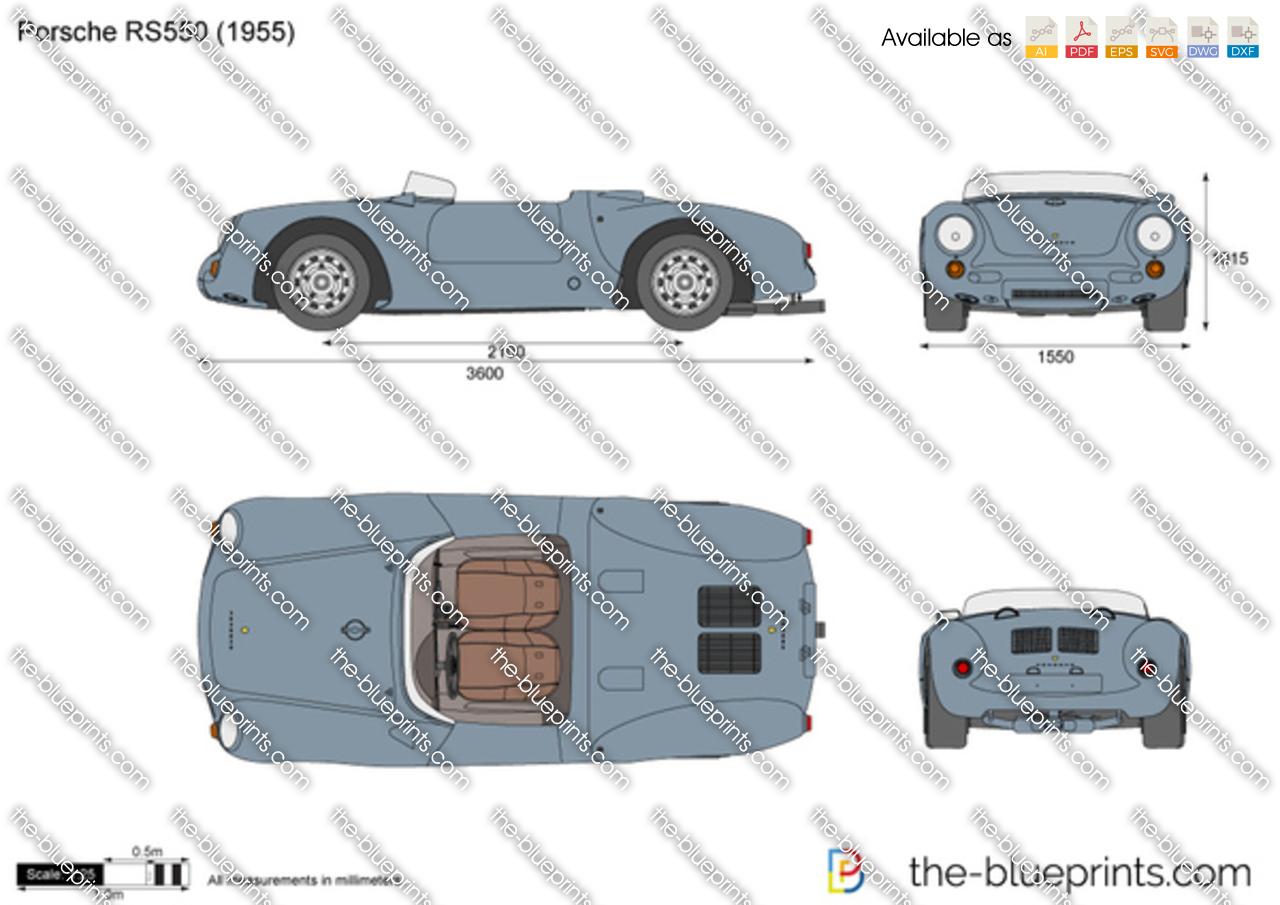 Porsche RS550
