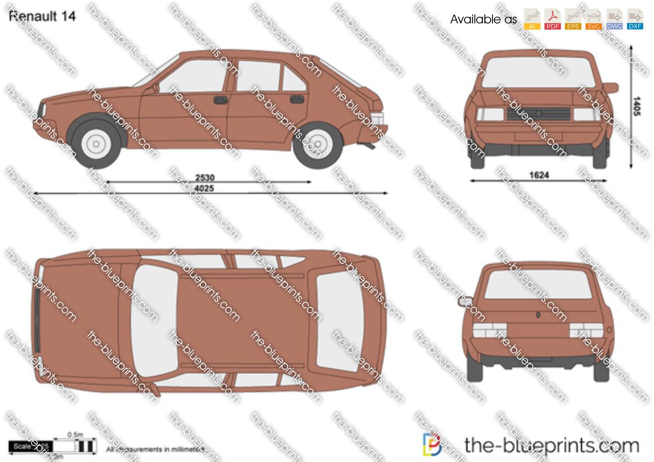 Renault 14 1982