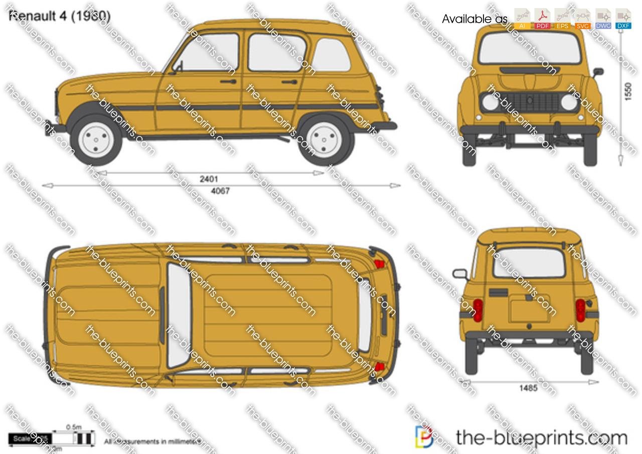 Renault 4 1968