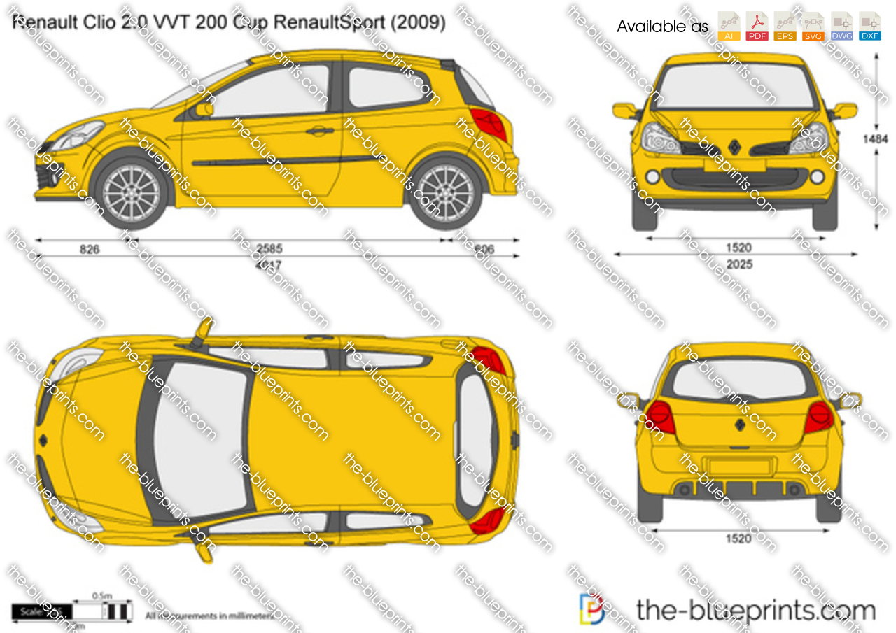 Renault Clio 2.0 VVT 200 Cup RenaultSport 2012