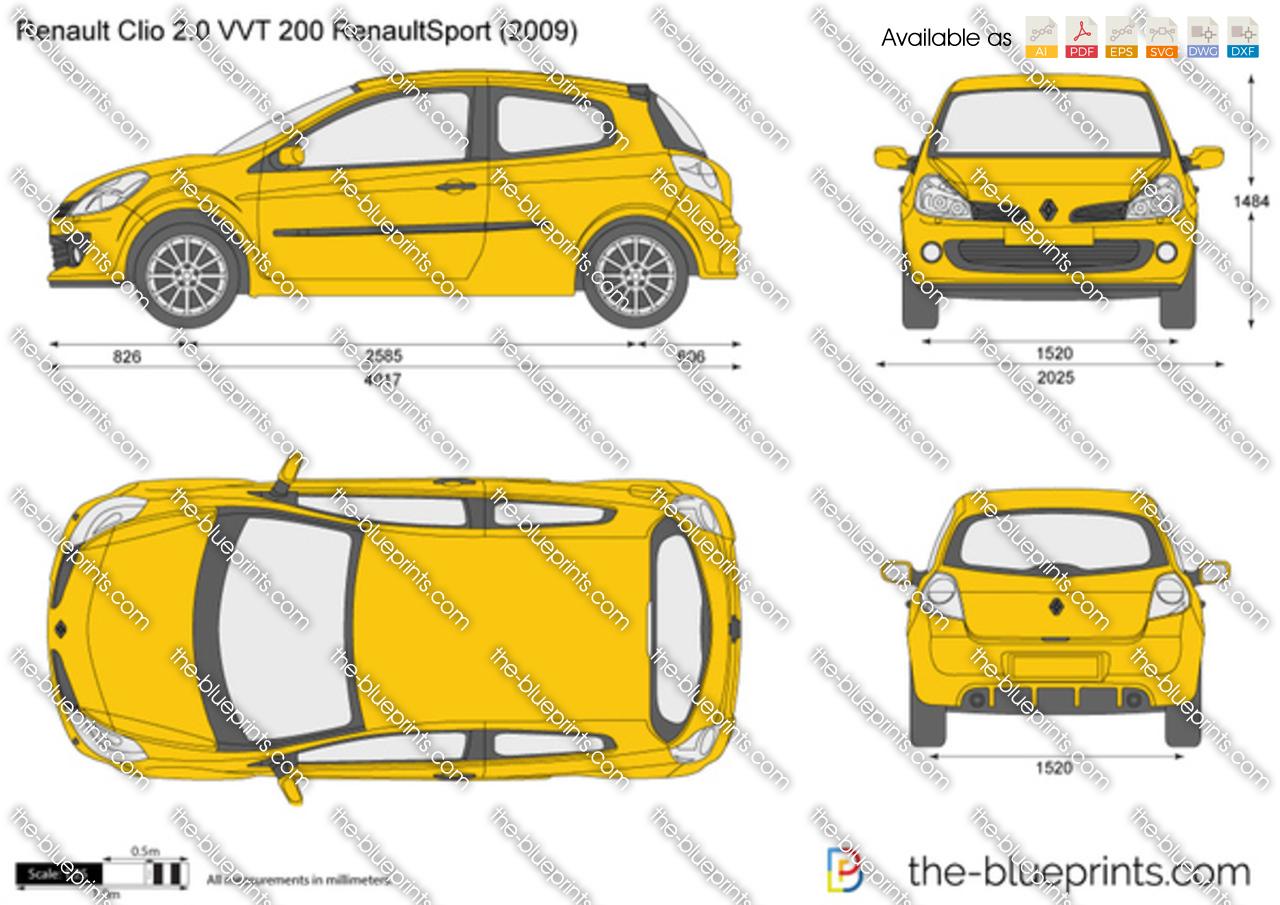 Renault Clio 2.0 VVT 200 RenaultSport 2012