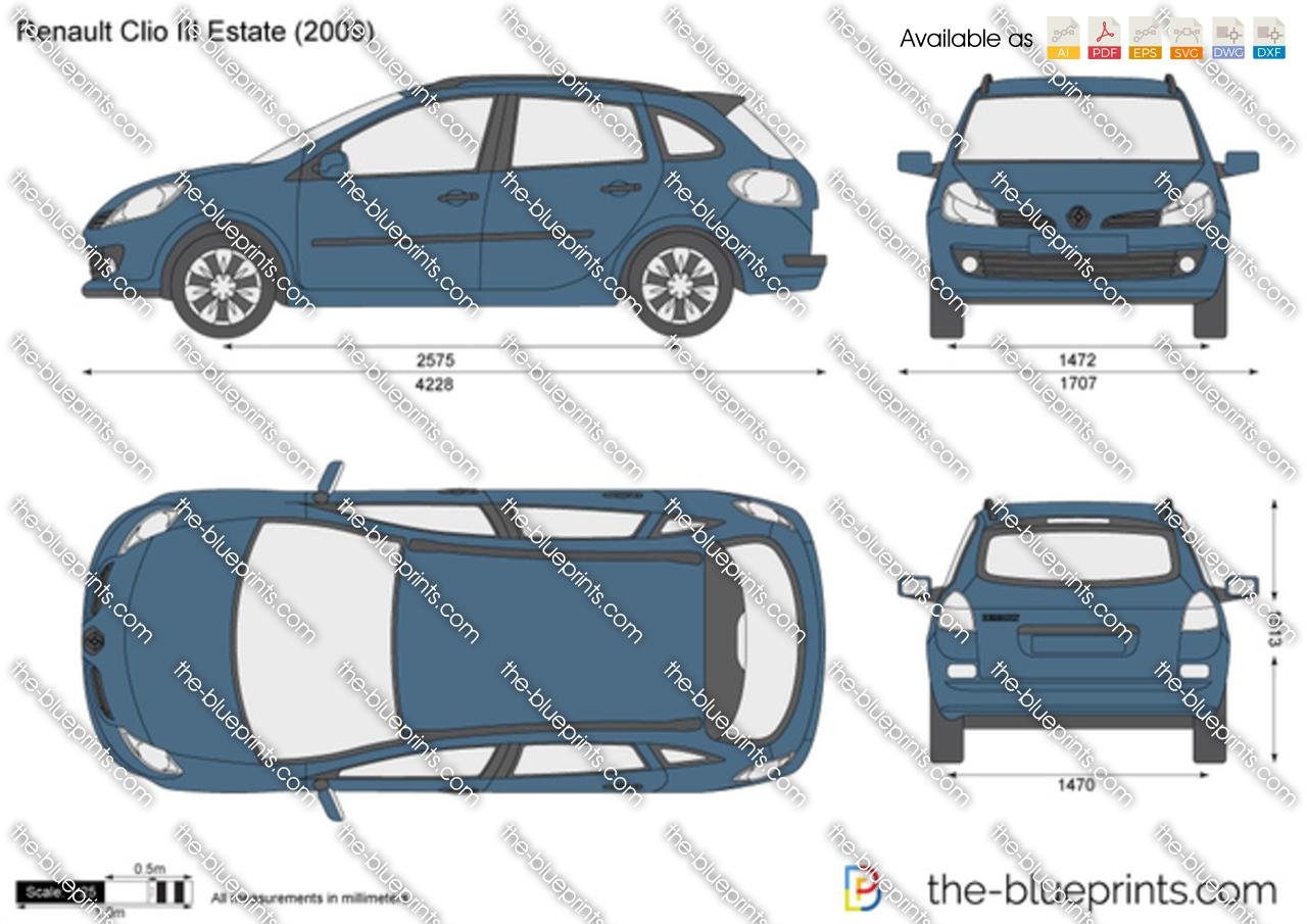 Renault Clio III Estate 2012