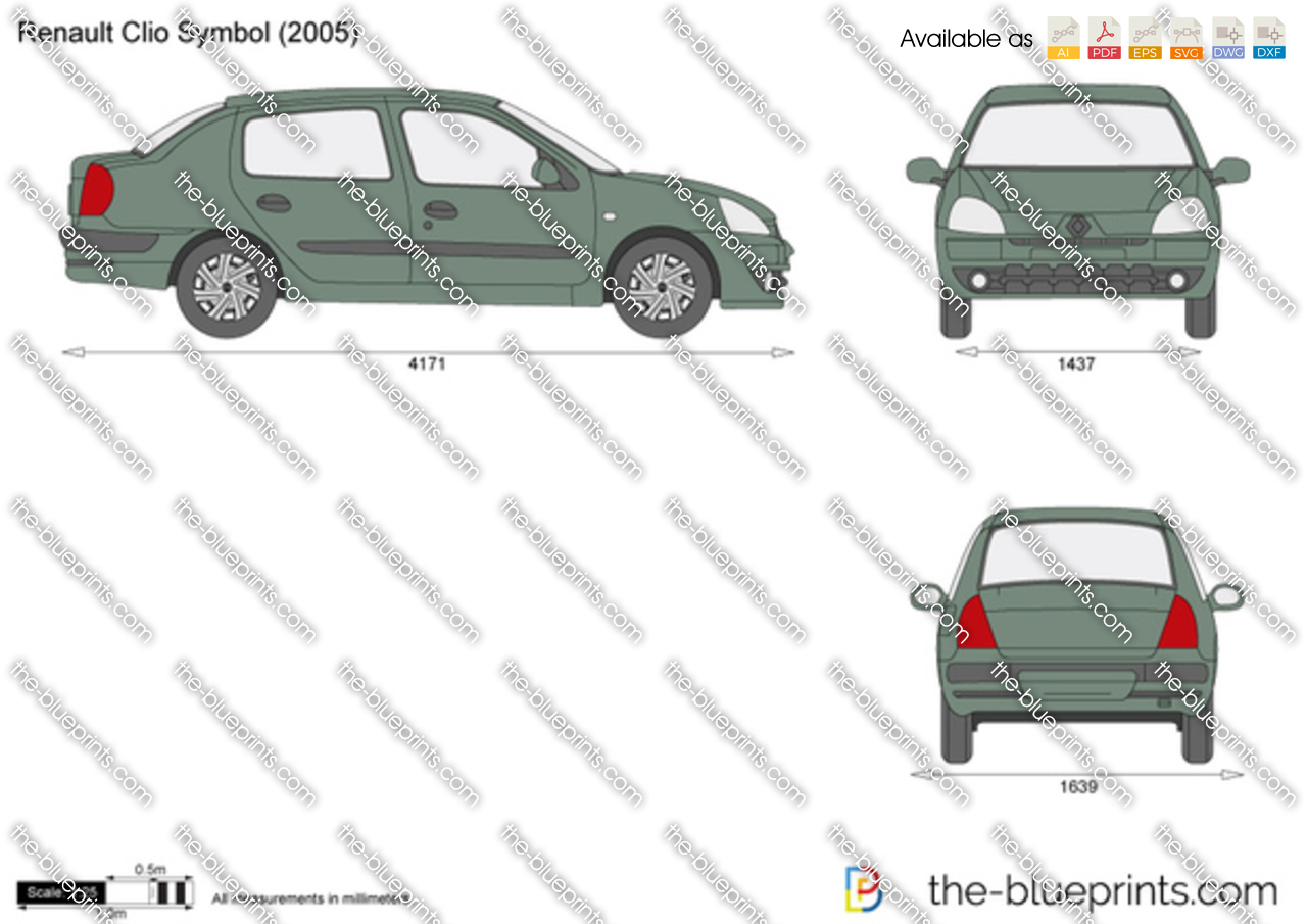 the blueprints com vector requests renault clio symbol