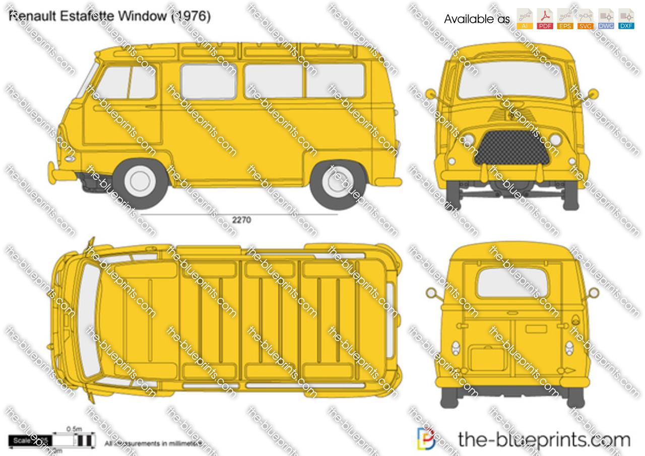 Renault Estafette Window