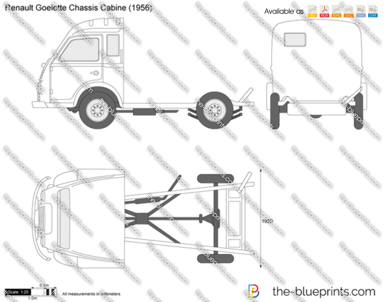 Renault Goelette Chassis Cabine