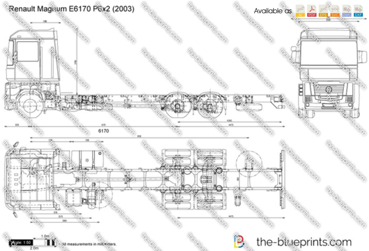 Renault Magnum E6170 P6x2