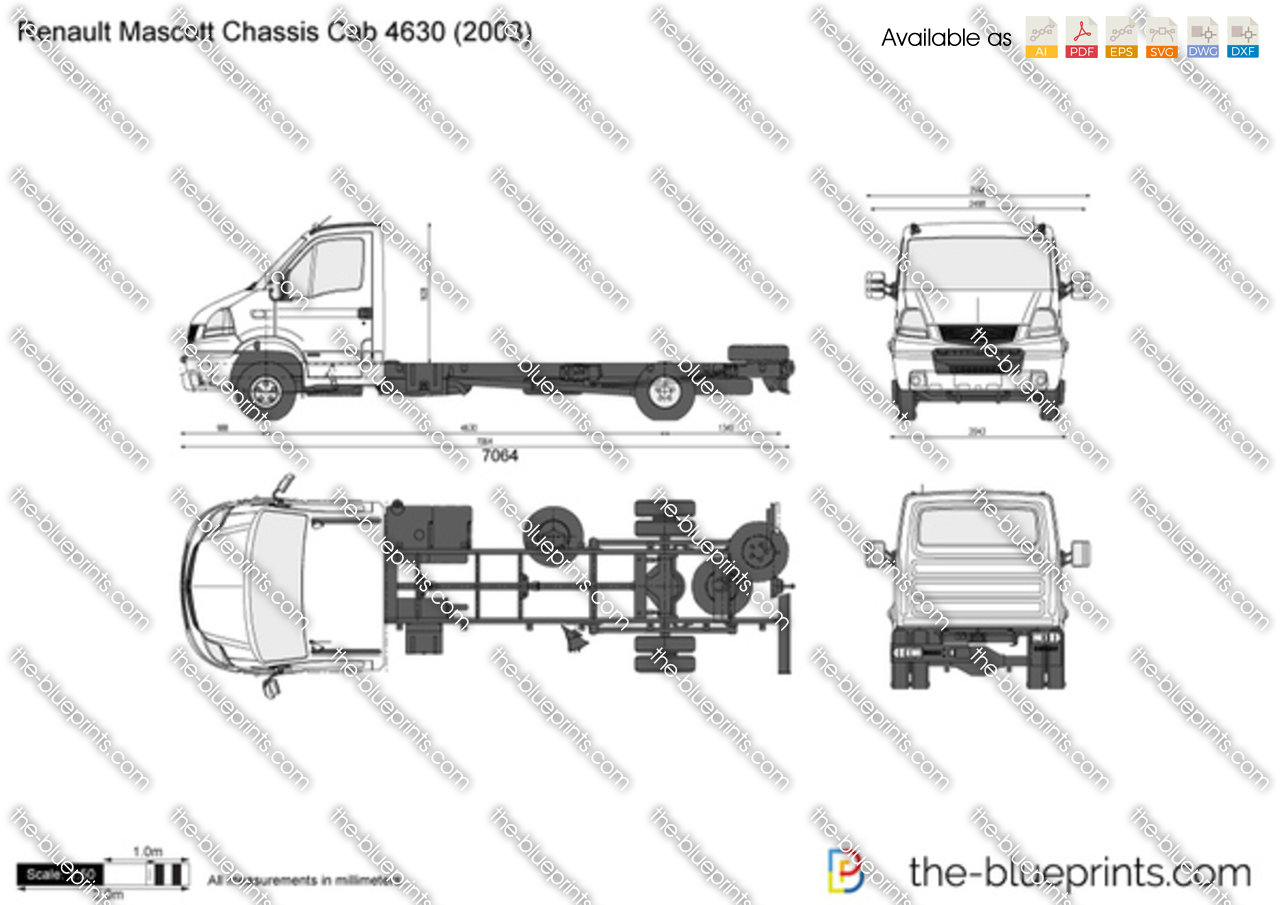 Renault Mascott Chassis Cab 4630