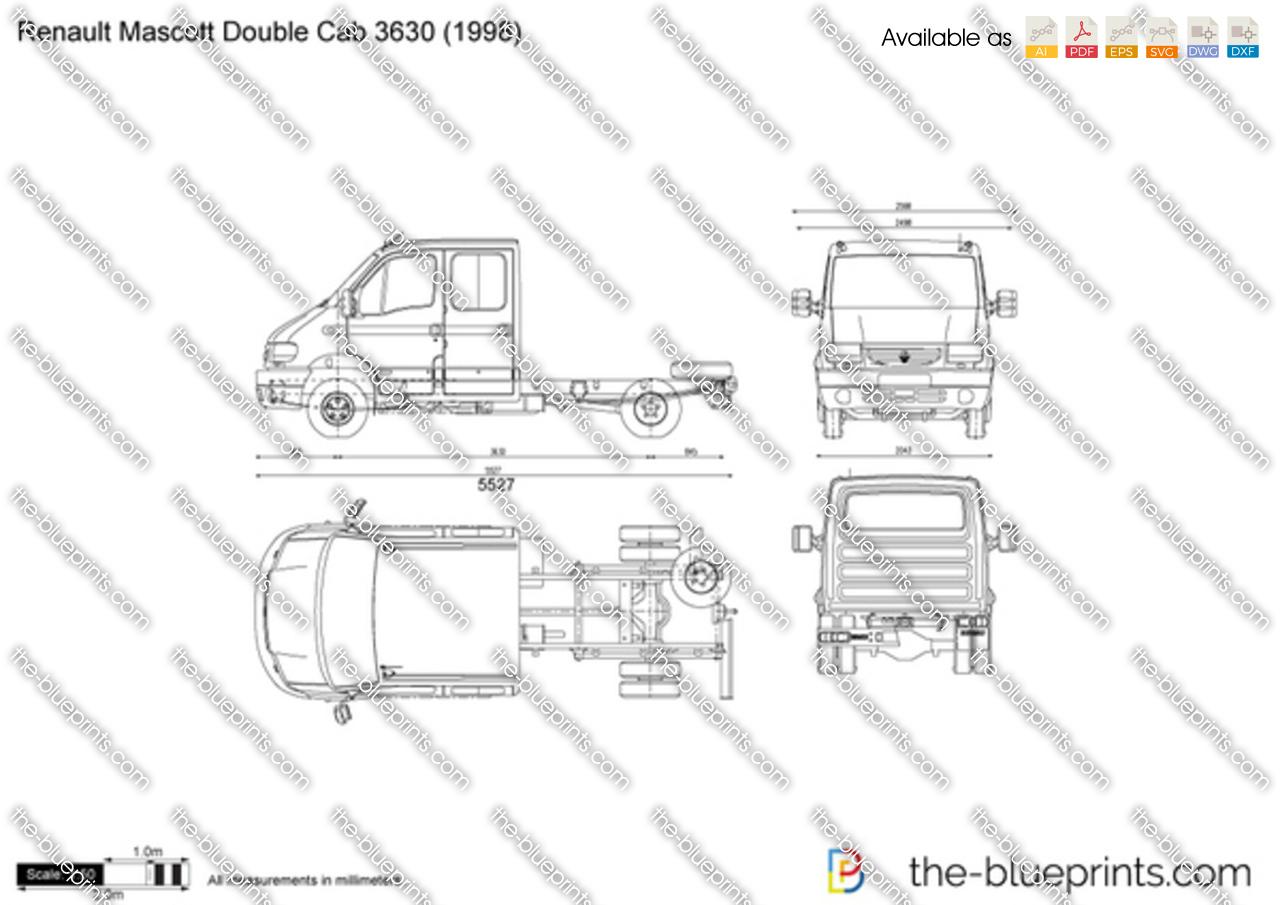 Renault Mascott Double Cab 3630