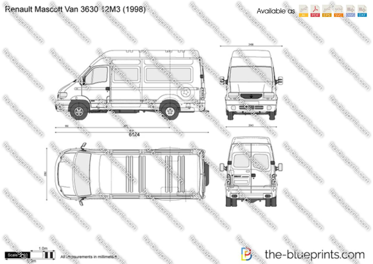 Renault Mascott Van 3630 12M3