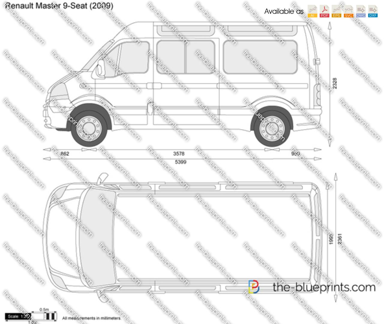 Renault Master 9-Seat 2010