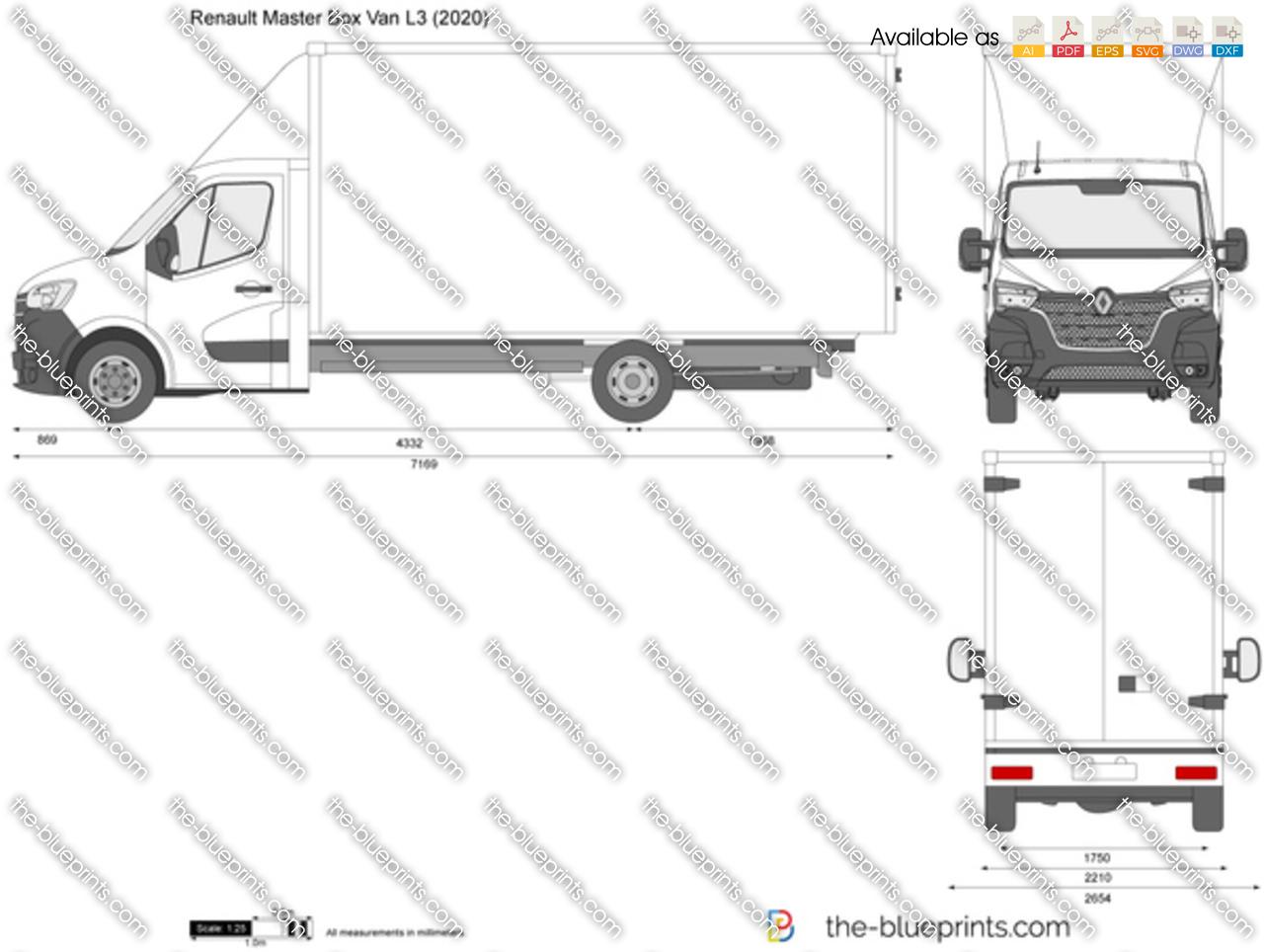 Renault Master Box Van L3