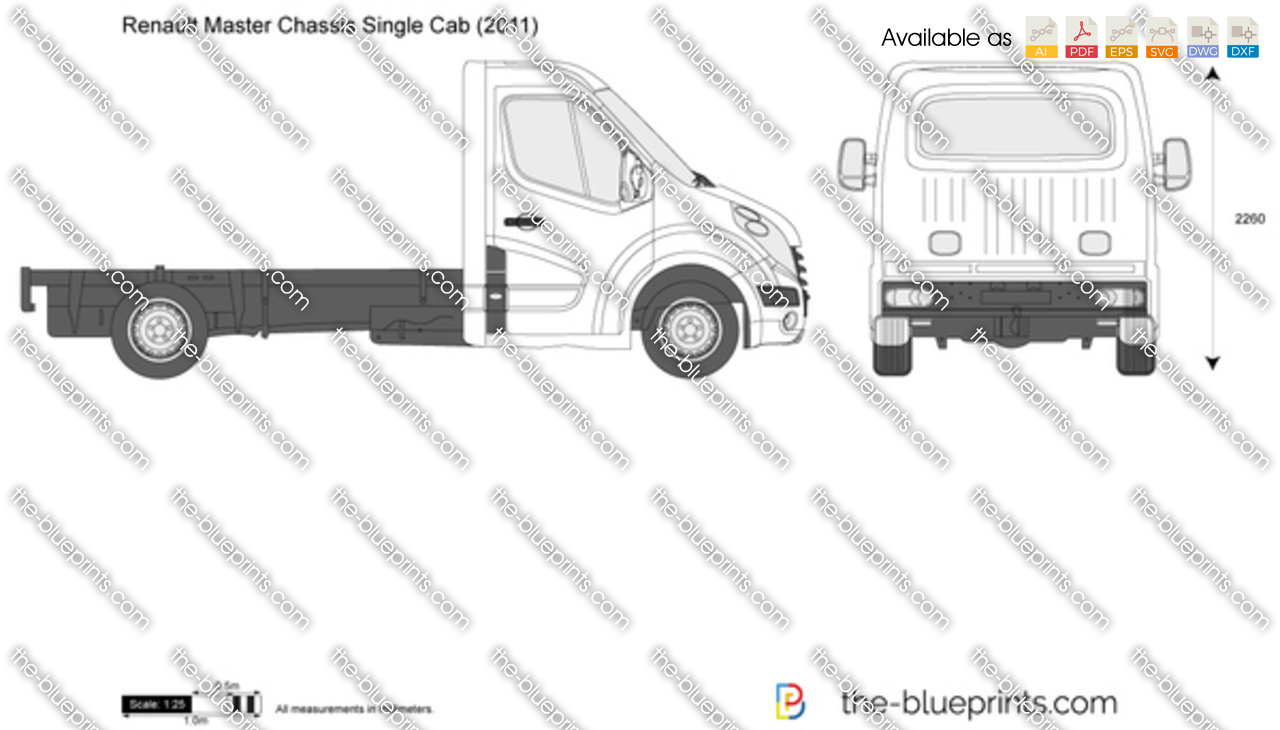 Renault Master Chassis Single Cab 2012